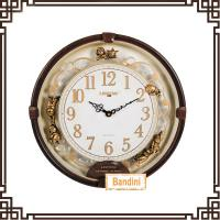 Wholesale Hot sell europeanism resin decorative wall clock bedroom decorating clock B8039-1 from china suppliers
