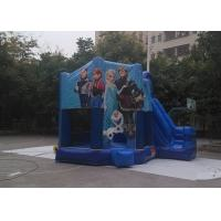 Wholesale Funny Jumping Castles Frozen Inflatable Bounce House With Slide And Roof Cover from china suppliers