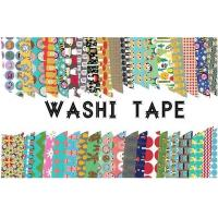 Wholesale Adhesive Scotch Tape Label Waterproof Masking Printed Washi Paper from china suppliers