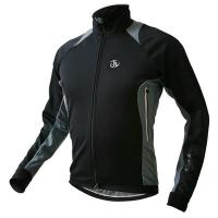 Wholesale Black Grey Sublimated Cycling Wear Thermal Race Winter Bicycle Jacket from china suppliers