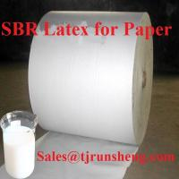 Quality SBR latex For Paper, Styrene Butadiene Latex  for sale