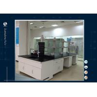 Wholesale Professional All Wood Lab Furniture Installations , High School Science Lab Workstations from china suppliers