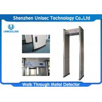 Wholesale Economic and easy  assembly ,18 zones archway metal detector  security  gates for metro station from china suppliers