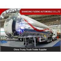 Wholesale 40cbm fuel tanker semi trailer , Stainless steel water tank semi trailer from china suppliers