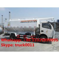 Wholesale customized farm-oriented poultry feed truck with hydraulic discharging for sale, factory sale hydraulic 12m3 feed truck from china suppliers