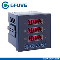 Wholesale FU9000 THREE PHASE CURRENT AND VOLTAGE DISPLAY METER from china suppliers