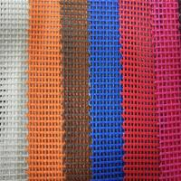 Wholesale White , Black, Blue PVC Coated Polyester Mesh fabric suit safety fence from china suppliers
