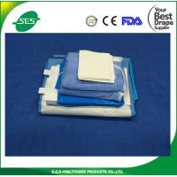 Wholesale CE ISO FDA marked general disposable laparoscopy drape set from china suppliers
