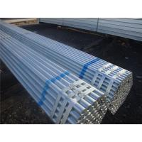 Wholesale Hot Dipped Galvanized Carbon Steel Pipe Round With Q235 Material from china suppliers