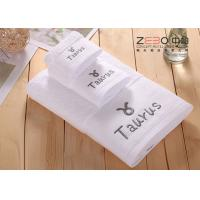 Wholesale Solid Color Large Bath Towels Hotel Collection For Women / Men Easy Wash from china suppliers