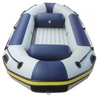 Wholesale 4 M Inflatable River Raft Double Layer Bottom 8 Person Inflatable Raft For Drifting from china suppliers