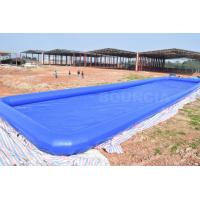 Wholesale Custom Blue Largest Inflatable Water Pool Square Above Ground Salt Water Pool from china suppliers