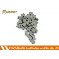 Wholesale Grade SM12 tungsten carbide cutting tools , tungsten carbide blade Tip ISO certification from china suppliers
