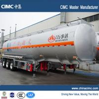 Wholesale tri-axle 45000 liters fuel truck semi trailer for sale from china suppliers