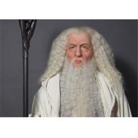 Wholesale Gandalf Silicone Action Figures / Modern Realistic Vivid Customized Silicone Wax Figure from china suppliers