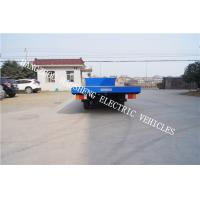 Wholesale Fixed Platform Electric Transport Truck , Heavy Duty Electric Vehicles 15t Load from china suppliers