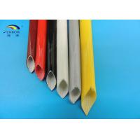 Wholesale Flexile Fire Resistance Silicone Coated Braided Fiberglass Insulation Sleeving for Electrical Wires from china suppliers