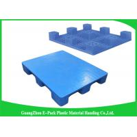 Quality LightWeight Nestable Plastic Pallets Single Face Nine Feet 100% Recycled Material for sale