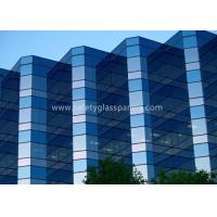 Wholesale 12.38mm Low E Laminated Safety Glass for Curtain Wall , Door and Windows from china suppliers