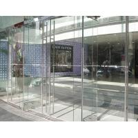 Wholesale 6mm High transmittance low iron ultra clear glass door for building from china suppliers