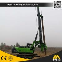 Buy cheap Rotary Bored Piles Drilling Machine / Hydraulic Crawler Drilling Rig TYSIM KR150C from wholesalers