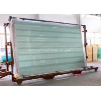 Wholesale Clear / Tint Laminated Tempered Safety Glass , Solid tempered window glass from china suppliers