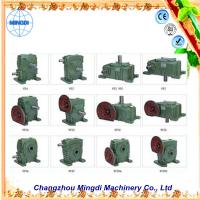 Wholesale Flange mounted WPA/WP 33kw Cast Ironl Worm Industrial Gearbox with Electric Motors from china suppliers