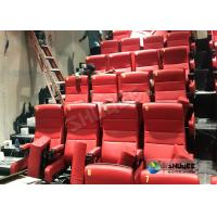 Wholesale Immersive 4D Cinema Equipment With Electric System And Customized Seats Number from china suppliers