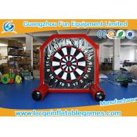 Buy cheap Inflatable Football Dart Game, Inflatable Foot Darts For Kids from wholesalers