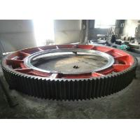 Wholesale Custom Straight Toothed Large Diameter Gear Ring / Pinion Gears With CNC Machining from china suppliers