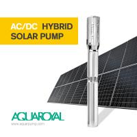 Buy cheap HYBRID SOLAR PUMP 5SP20/1 | MAX FLOW 34.2M3 | MAX HEAD 15M | AUTO AC/DC from wholesalers
