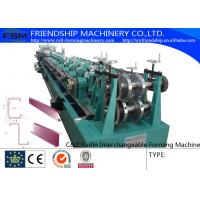 Wholesale Efficiency C Z Purlin Rolling Form Machine Galvanized Steel High Speed from china suppliers