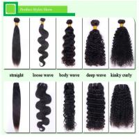 Wholesale Real 100 Human Hair Extension For Black Women, Curly Virgin Peruvian braiding Hair from china suppliers