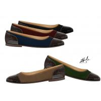 Wholesale Autumn Ladies / Womens Leather Flat Shoes from china suppliers