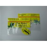 Wholesale Printed Fishing Bait Soft Plastic Storage Bags With Clear Window And Foil Zipper from china suppliers