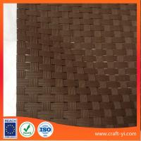 Wholesale Brown 8X8 Textilene mesh weave fabric dull polish PVC coated mesh fabric from china suppliers