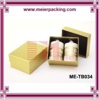 Wholesale Custom printing scented candle packaging box custom candle box paper candle box ME-TB034 from china suppliers