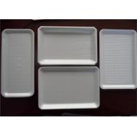 Wholesale Customized White PS Foam Trays , Polystyrene Meat Trays For Packaging Food from china suppliers