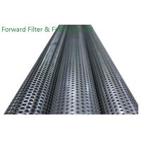 Wholesale Exhausted Filter Core PPerforated Metal Tubing Stainless Steel , Straight Welding Seam from china suppliers