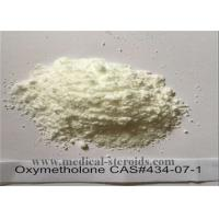 Wholesale 99.5% Purity Raw Steroid Powder Oxymetholone Anadrol CAS No. 434-07-1 for Bodybuilding from china suppliers