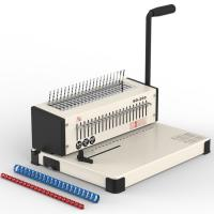 Wholesale Comb Binding Machine Book Bindi Comb Binder Machine Punch Mahine White Color from china suppliers