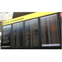 Wholesale Full Color Rolling Information Indoor Airport Led Sign More Than 1000cd / m2 from china suppliers