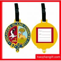 Quality golden yellow luggage tag for sale