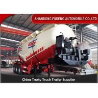 Wholesale 3 axles Dry Bulk Trailer Powder Cement Tanker Semi Trailer With 25ton-40ton from china suppliers