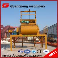 Wholesale 1200 L Feeding Volume Compulsory Concrete Mixer with lifting hopper from china suppliers