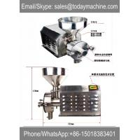 Wholesale stainless steel grain grinding machine/ stainless steel grain grinding mill from china suppliers