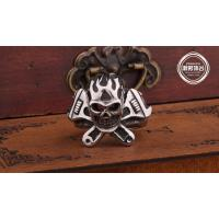 Wholesale Fashion  Jewelry stainless steel Vintage Ring for men E19 Retro fashion Skull ring from china suppliers
