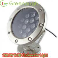 Wholesale LED Underwater boat Light /LED Dock Light / Underwater Light GNH-UW-15*1W-J from china suppliers
