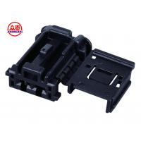 Wholesale 2 Pins Automotive Wire Connectors , Automotive Electrical Connectors In Black from china suppliers