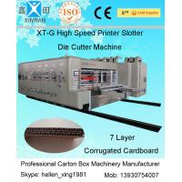 Wholesale ISO Carton Box Making Machine Corrugated Cardboard Flexo Printer Slotter Machine from china suppliers
